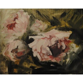 "Badillo ""Peonies"" Painting"