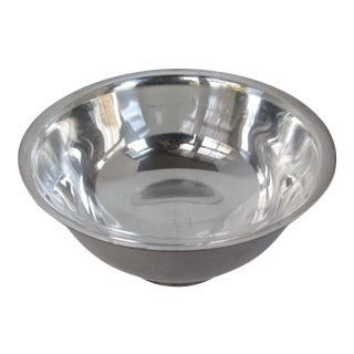 Silver-Plate Bowl With Liner