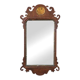 Federal Mirror With Gold Leaf Medallion