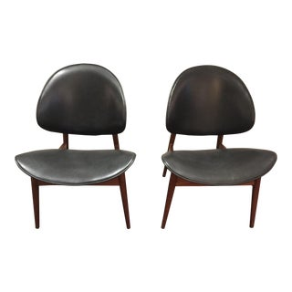 Clam Shell Chairs by Seymour James Wiener for Kodawood