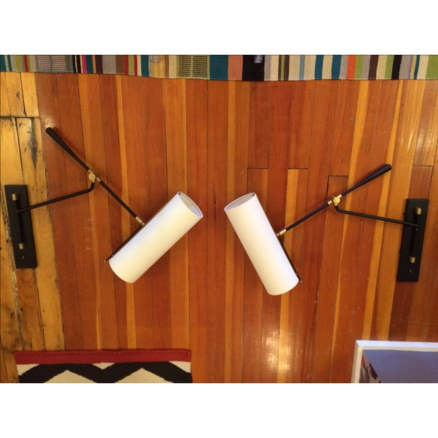 Visual Comfort Frankfort Wall Sconces - Pair - Image 7 of 7