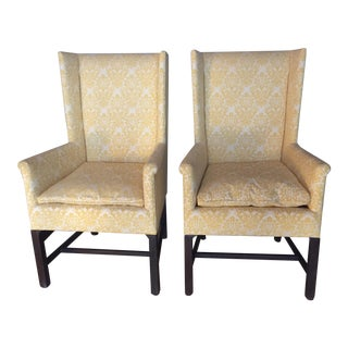 Hickory Company Upholstered Chairs - A Pair