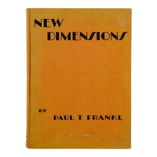 1928 'New Dimensions: The Decorative Arts' Book