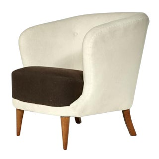 1950s Danish Barrel Chair
