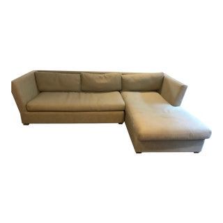 Restoration Hardware Light Gray Sectional