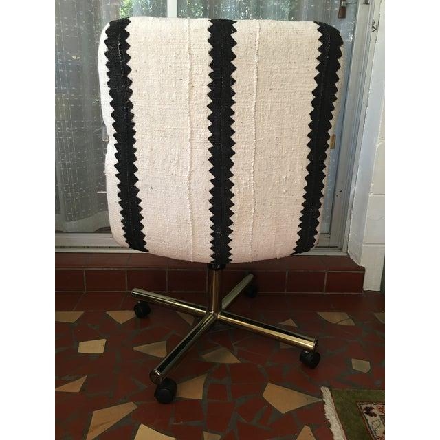 Black & White Desk Chair - Image 5 of 9