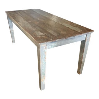 Reclaimed Rustic Dining Table