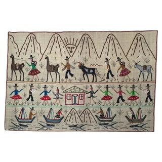 Central American Traditional Art Textile
