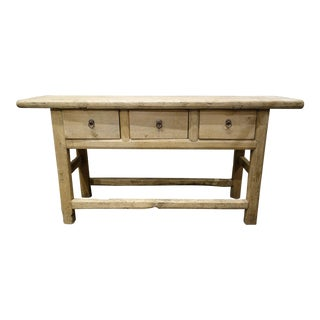 Antique French Primitive Console