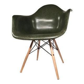 Herman Miller Eames LAR Armchair in Olive
