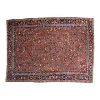 """Vintage Heriz Carpet - 8'11"""" x 11'11"""""""