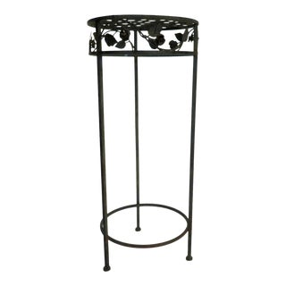 French Wrought Iron Plant Stand