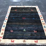"Image of Vintage Persian Gabe Area Rug- 6'5"" x 4'7"""