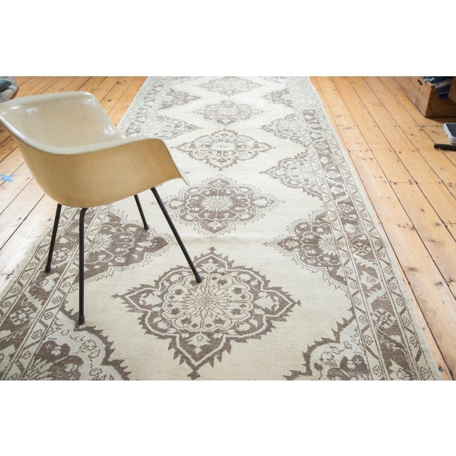 "Distressed Oushak Runner - 5' X 12'10"" - Image 7 of 10"