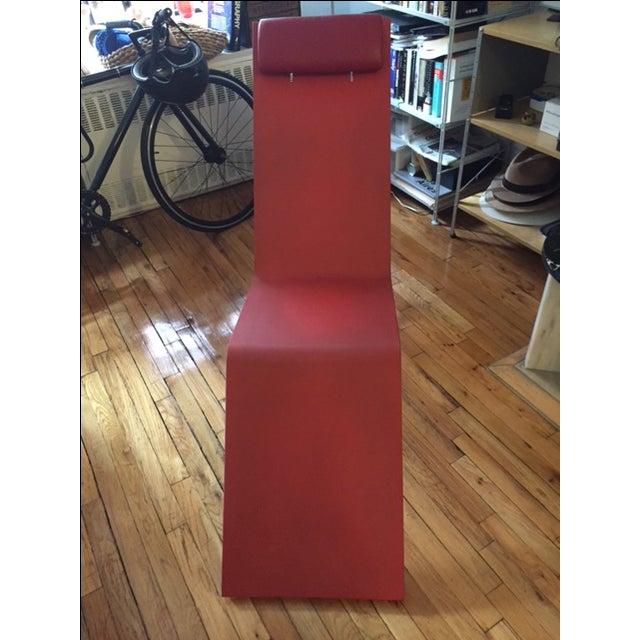 Maarten van severen mvs chaise red chairish for Chaise 03 van severen