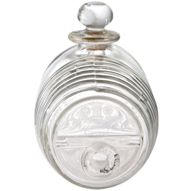 Vintage French Glass Cognac Barrel - Image 2 of 6