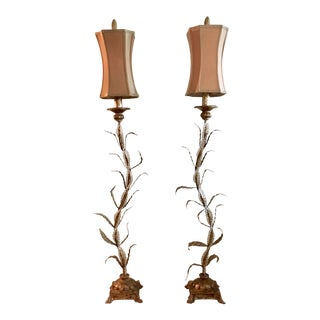 Artisan Table Lamps - A Pair