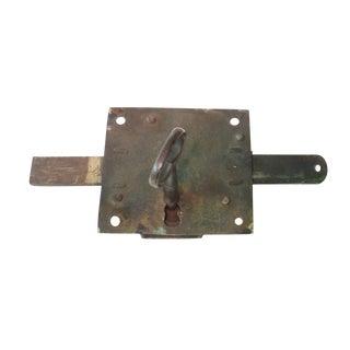 Antique 19th Century Lock & Key