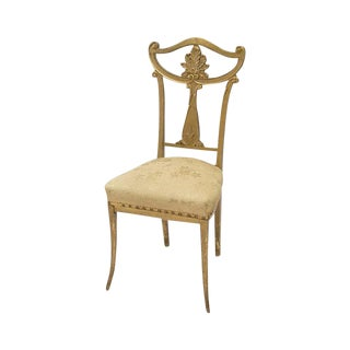 Gold Antique Side Chair