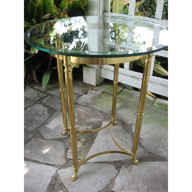 Vintage Brass LaBarge Table - Image 8 of 8