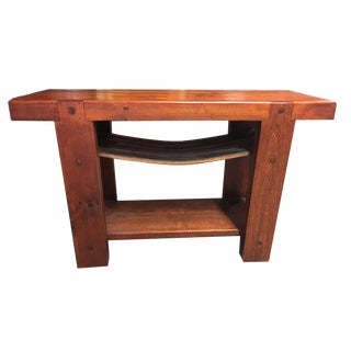 Wooden Small Buffet Table