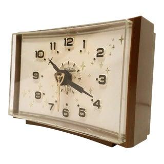 Mid-Century Glam Vintage Clock