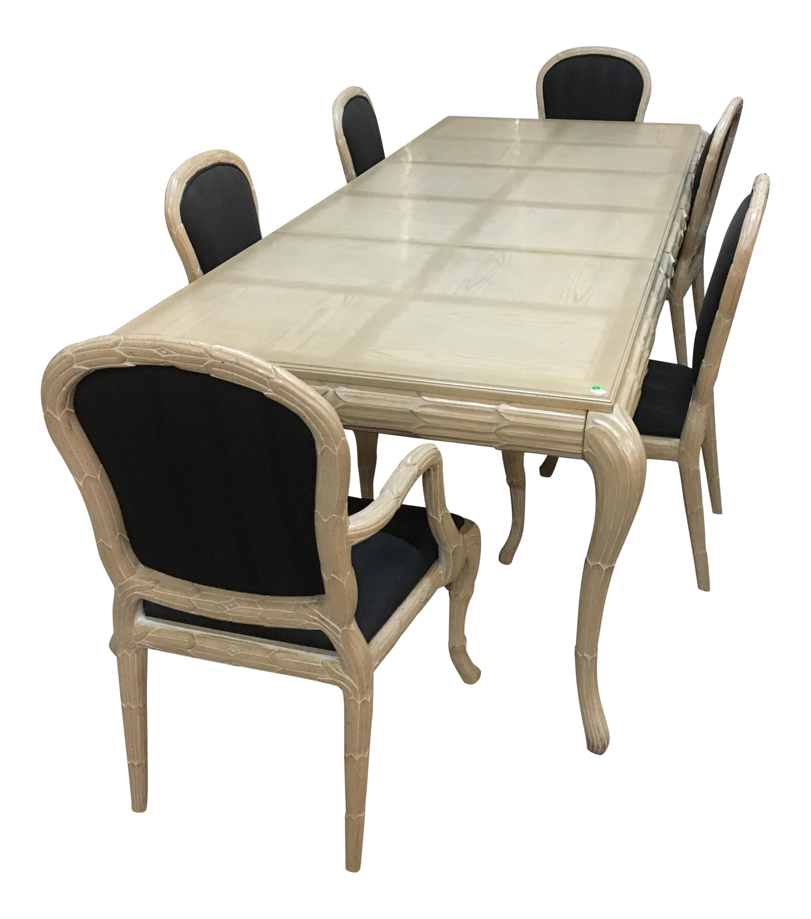 Washed Wood Dining Table U0026 Chairs   Set ...