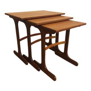 G-Plan Teak Nesting Tables - Set of 3