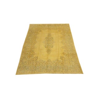 "Persian Gold Kerman Rug - 8'2"" x 10'9"""