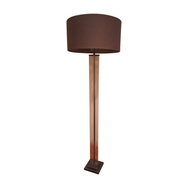 Restoration hardware french column floor lamp chairish for Restoration hardware floor lamp glass