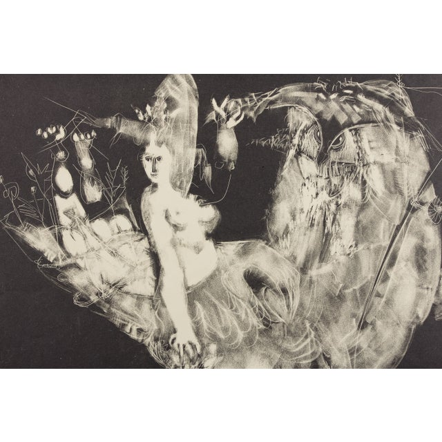 Image of Mythical Siren Printers Proof Bernard Reder