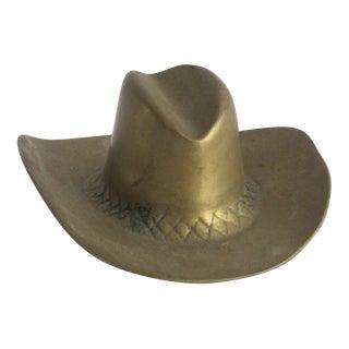 Brass Cowboy Hat
