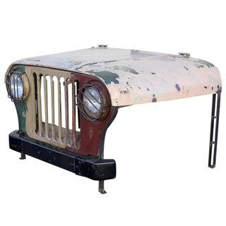 Vintage Military Jeep Desk