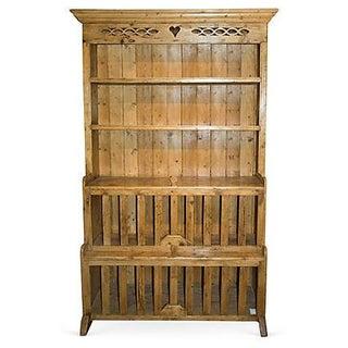 Antique Irish Pine Cupboard