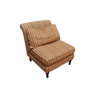 Lillian August Striped Slipper Chair