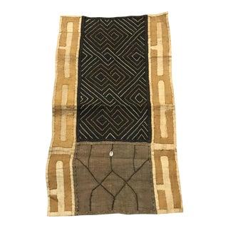 African Tribal Art Handwoven Kuba Cloth