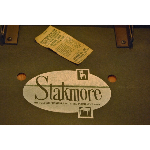 Stakmore Folding Chairs and Game Table - Image 6 of 7