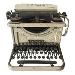 Image of Smith & Corona Shabby Chic Ivory Typewriter