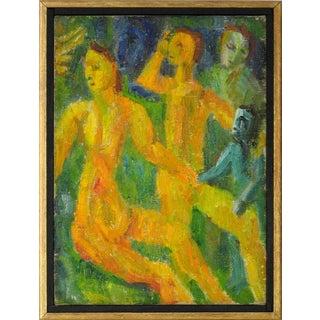 Jennings Tofel Petite Expressionist Figures