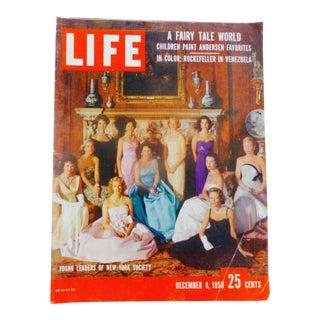 Life Magazine, Dec.1958, Jackie O, Jane Fonda, Ny Society