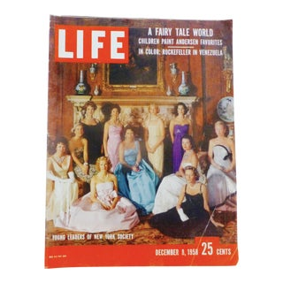 Life Magazine, Dec.8, 1958, New York Society