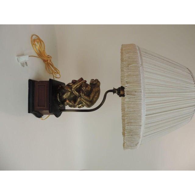 Vintage Monkeys Table Lamp - Image 7 of 7