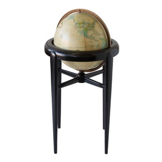 Replogle Illuminating Globe on Wooden Stand