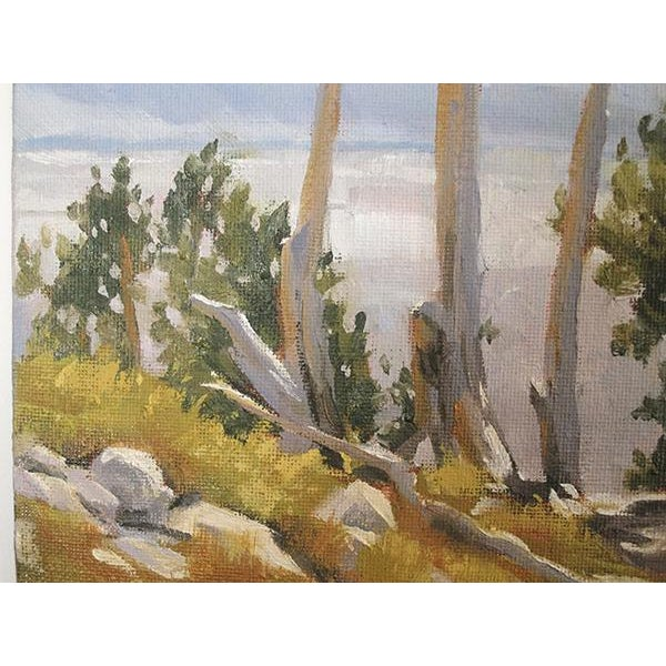 Ruby Mountain Valley Painting - Image 3 of 5