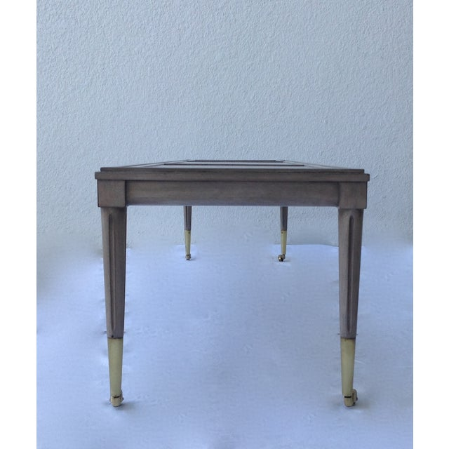 Italian Hollywood Regency Long Cocktail Table - Image 7 of 11