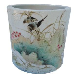 Vintage Chinese Bird Jardinaire