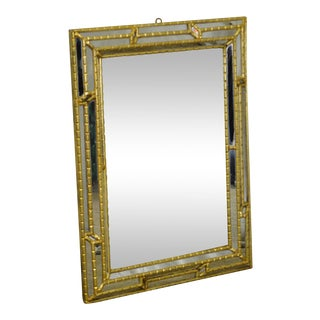 Hollywood Regency Italian Gilt Frame Wall Mirror