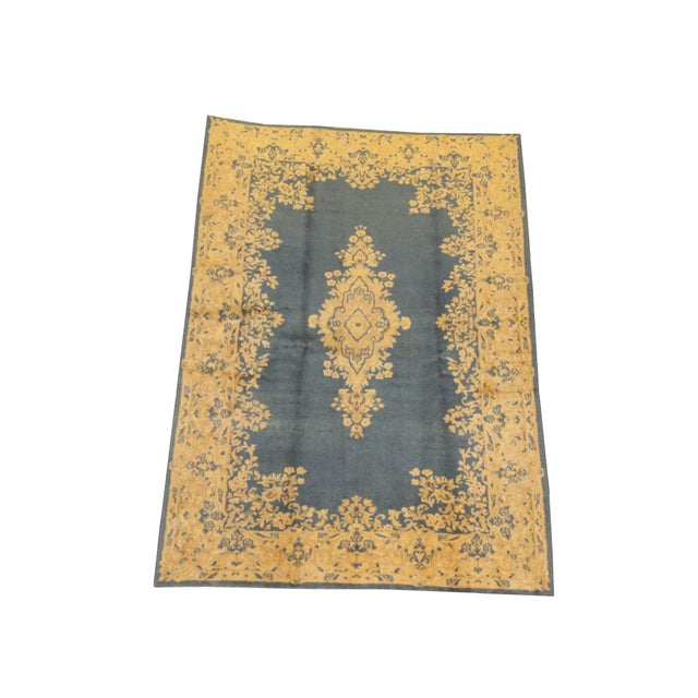 Image of Persian Kerman Rug - 6' x 9'