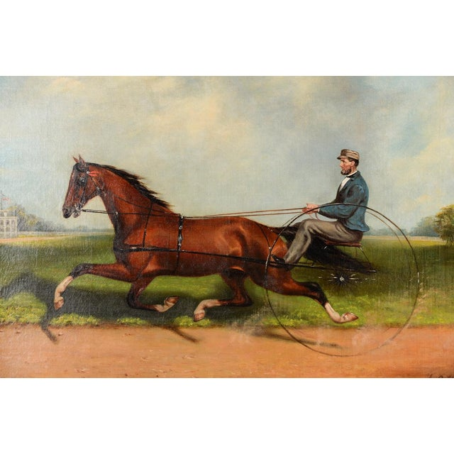 James Hill -19th Century Famous Horse Racing Oil Painting - Image 4 of 10