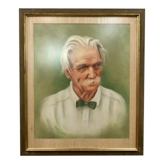 Vintage Portrait of an Older Southern Gentleman